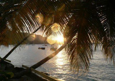 Coucher de soleil à Bequia - Grenadines