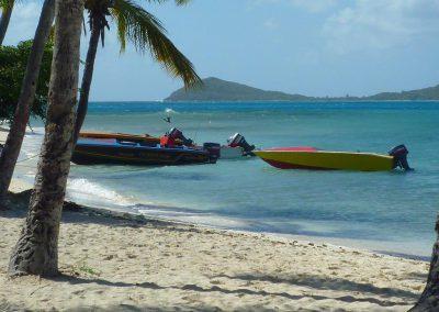 Plage Tobago Cays